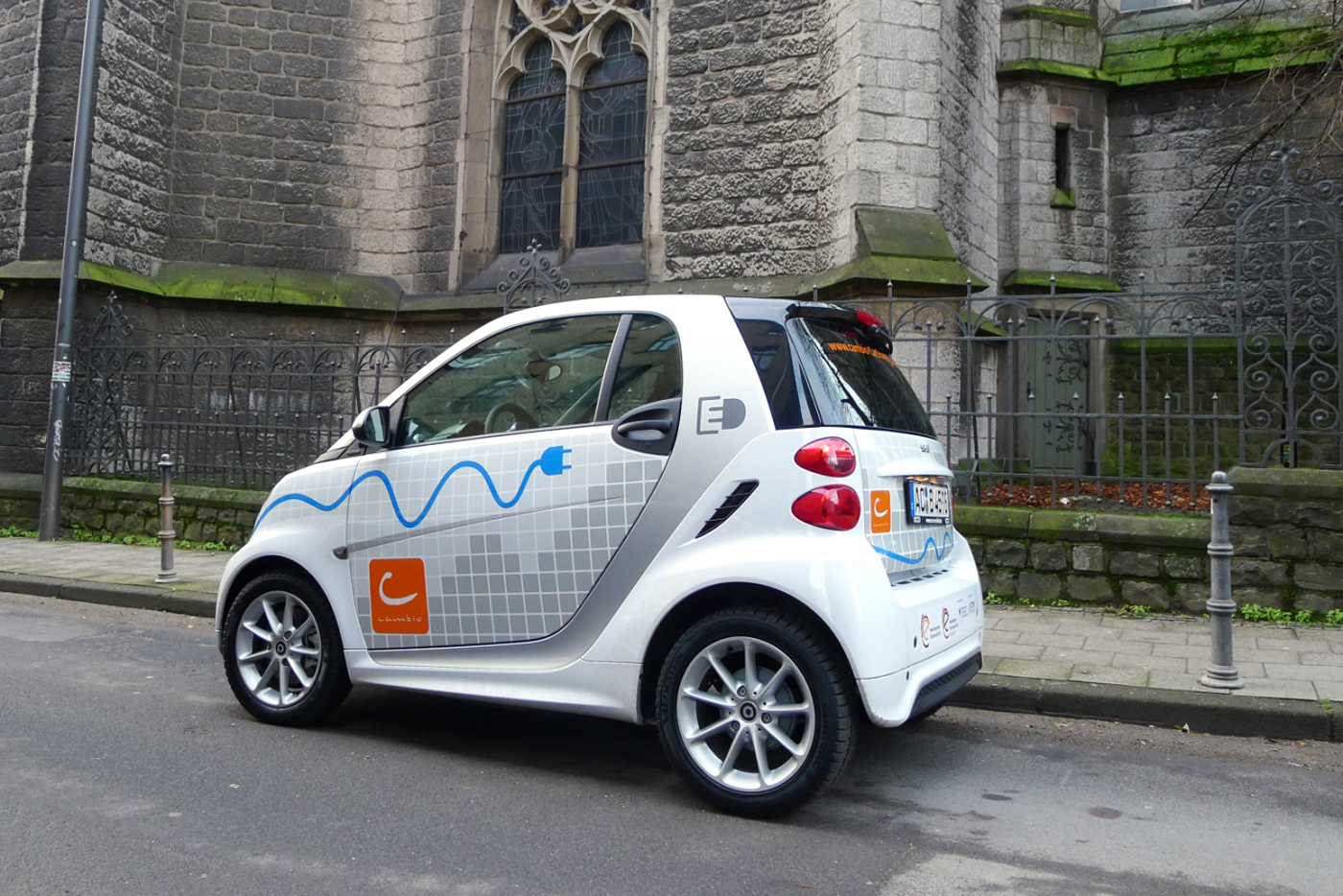 cambio CarSharing e-mobil