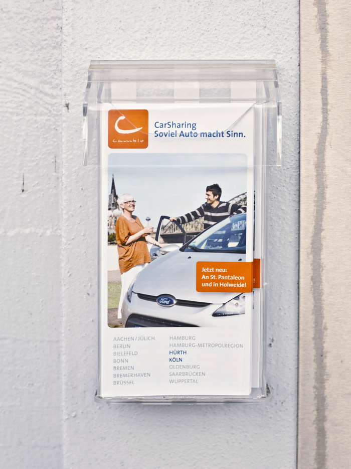 cambio CarSharing Flyer